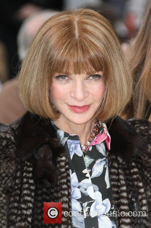 Anna Wintour London Fashion Week - Autumn/Winter 2012...