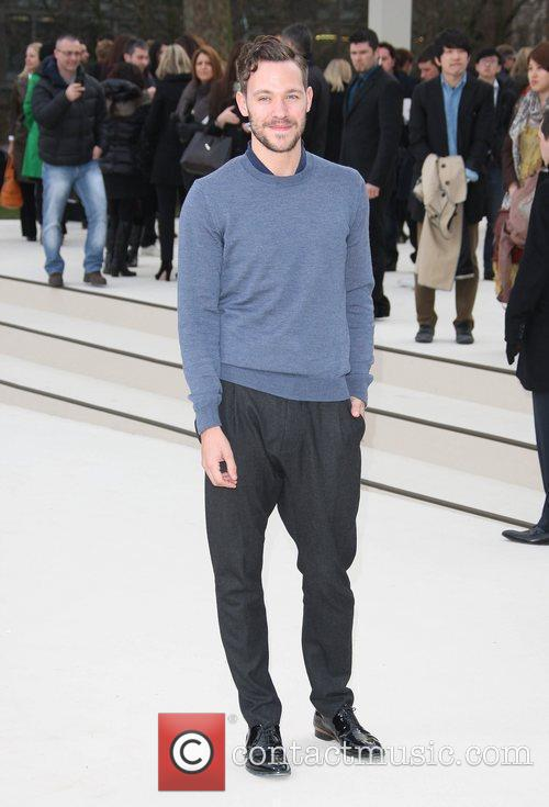 Will Young and London Fashion Week 1