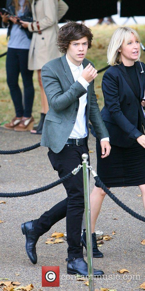Harry Styles and London Fashion Week 1