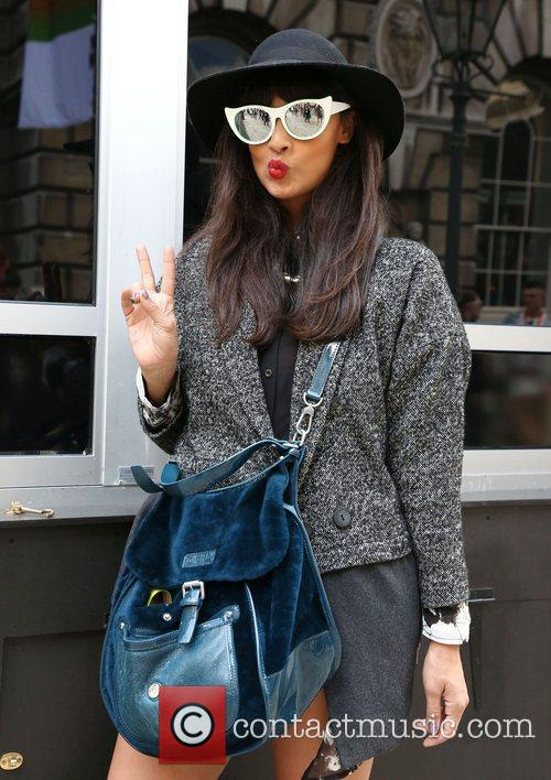 Jameela Jamil and London Fashion Week 4