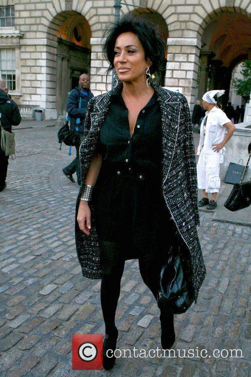 Nancy Dell'Olio London Fashion Week Spring/Summer 2013 -...