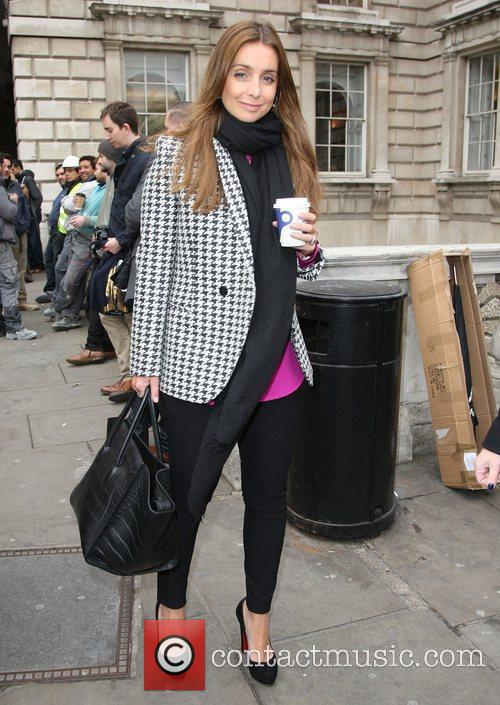 Louise Redknapp and London Fashion Week 1