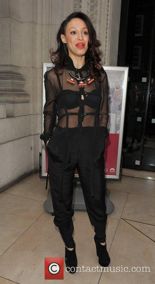 Amelle Berrabah and London Fashion Week 3