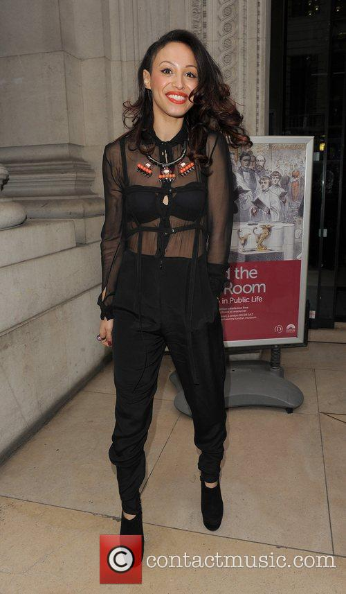 Amelle Berrabah and London Fashion Week 1