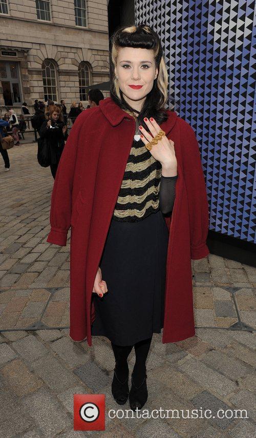Kate Nash and London Fashion Week 1