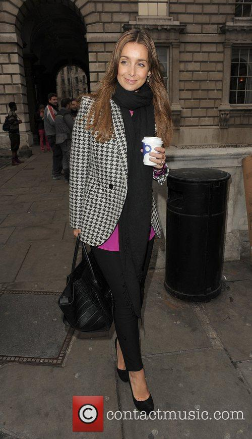 Louise Redknapp and London Fashion Week 3