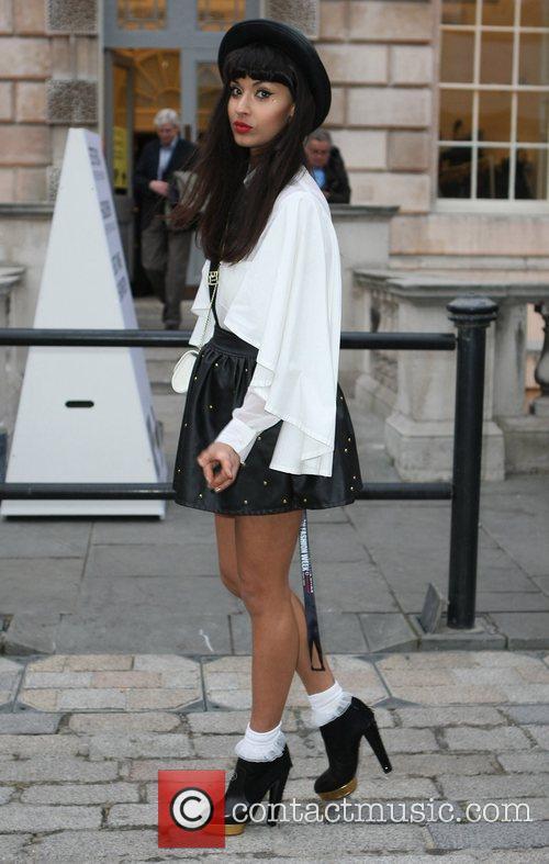 Jameela Jamil and London Fashion Week 4