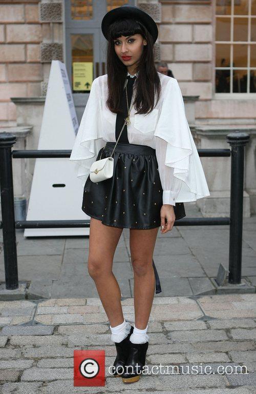 Jameela Jamil and London Fashion Week 6