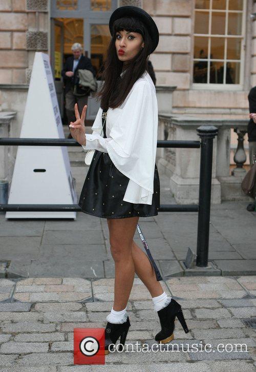 Jameela Jamil and London Fashion Week 7