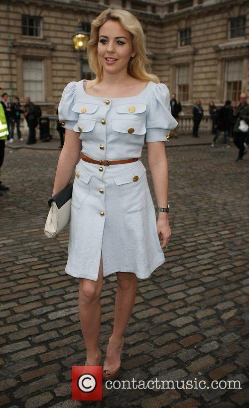 Lydia and London Fashion Week 3