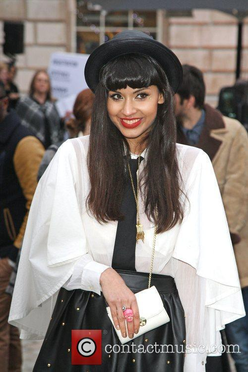 Jameela Jamil and London Fashion Week 8
