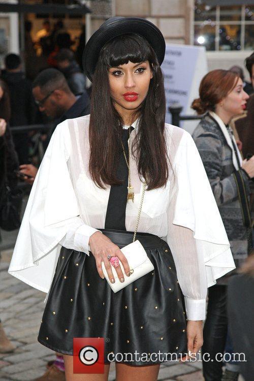 Jameela Jamil and London Fashion Week 9