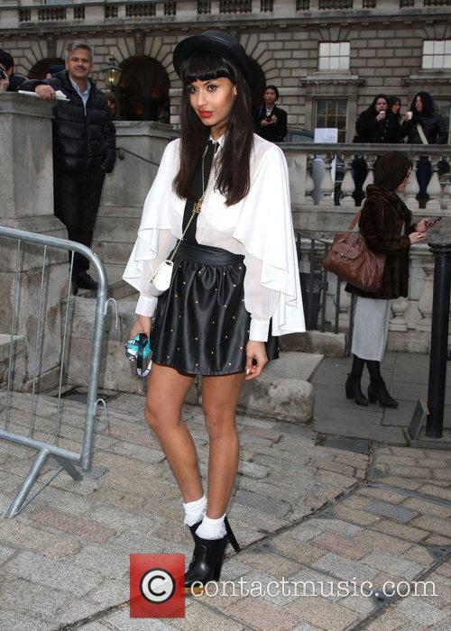 Jameela Jamil and London Fashion Week 10