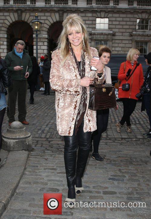 Jo Wood and London Fashion Week 1