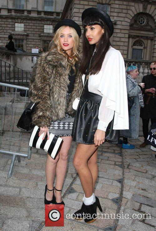 Laura Whitmore, Jameela Jamil and London Fashion Week 2