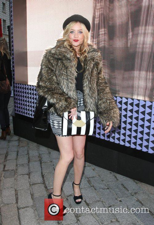 Laura Whitmore and London Fashion Week 3