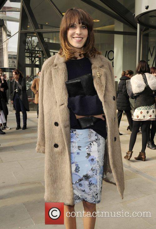 Christopher Kane Autumn/Winter London Fashion Show.
