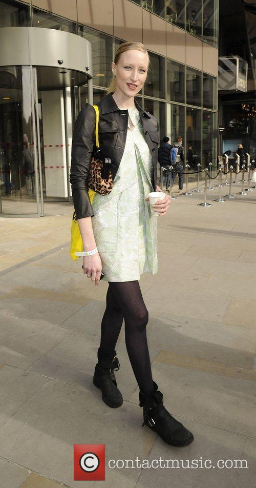 Jade Parfitt Christopher Kane Autumn/Winter London Fashion Show....