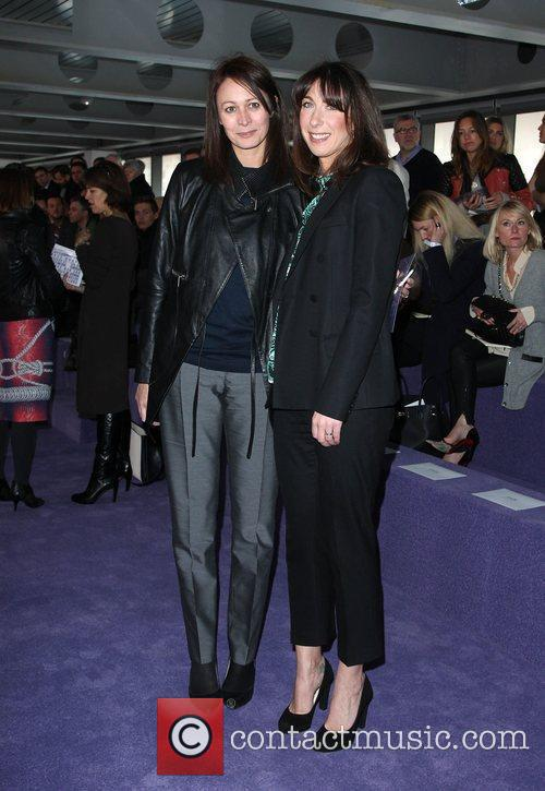 Samantha Cameron and London Fashion Week 2