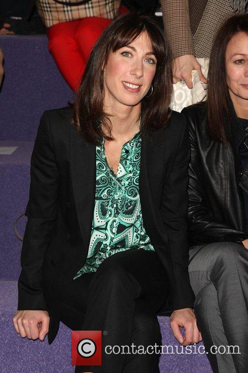 Samantha Cameron and London Fashion Week 1