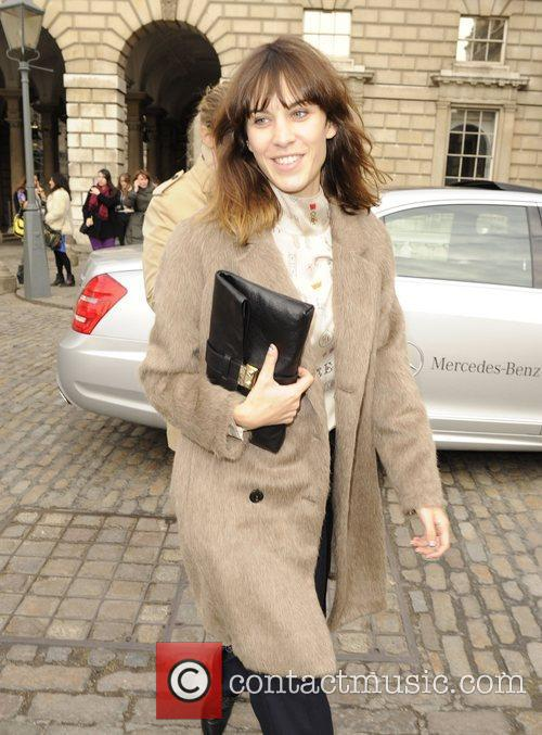 Alexa Chung and London Fashion Week 5