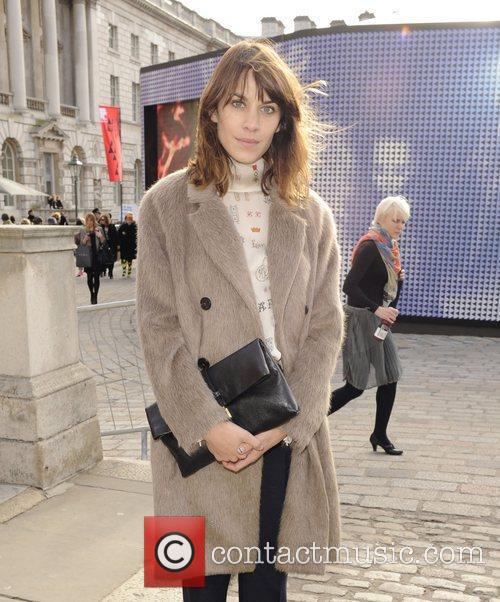 Alexa Chung and London Fashion Week 10