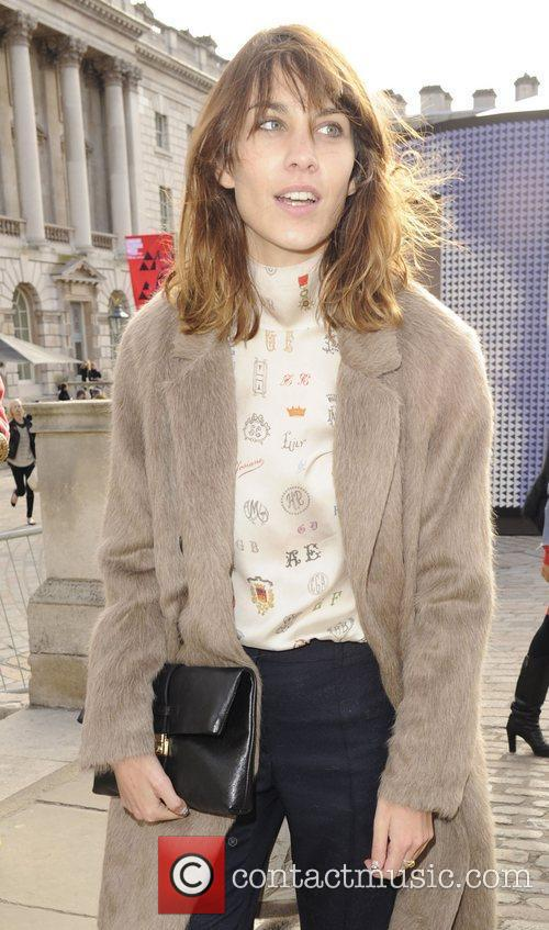 Alexa Chung and London Fashion Week 2