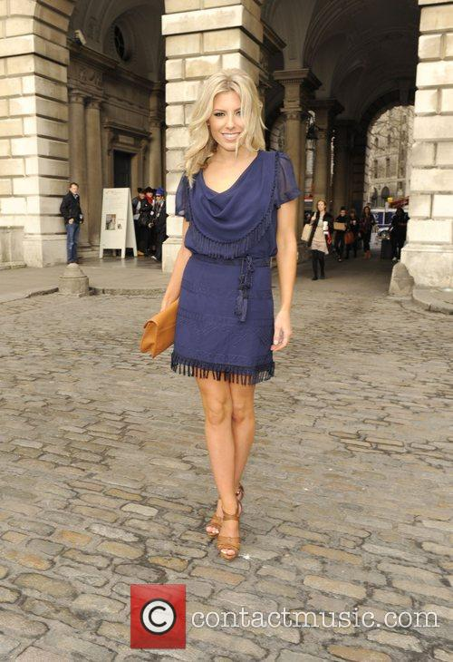 Mollie King and London Fashion Week 2