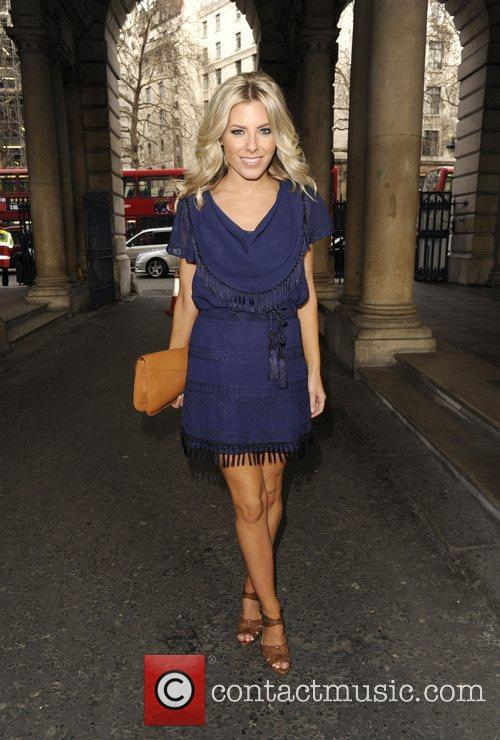 Mollie King and London Fashion Week 7