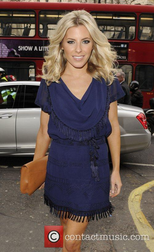 Mollie King and London Fashion Week 8