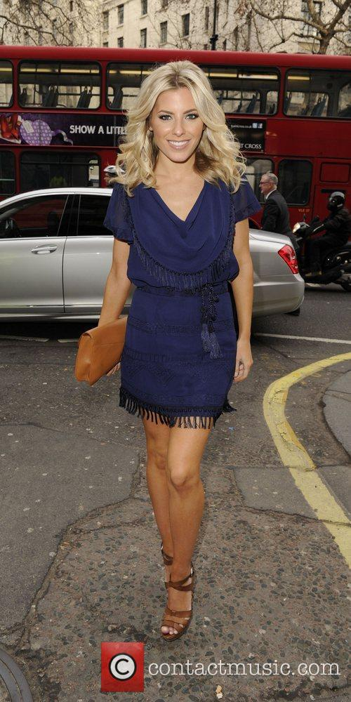 Mollie King and London Fashion Week 12