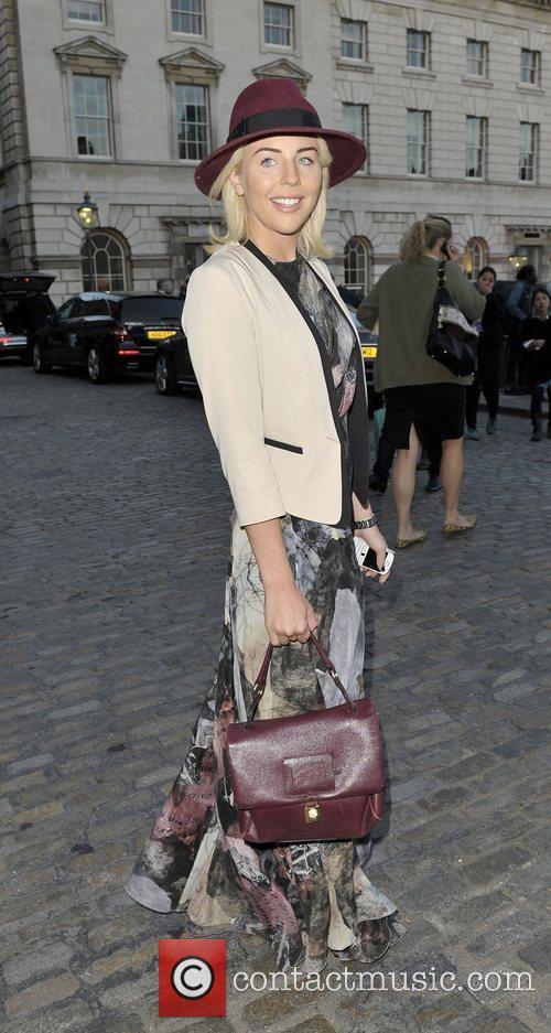 Lydia Rose Bright London Fashion Week Spring/Summer 2013...
