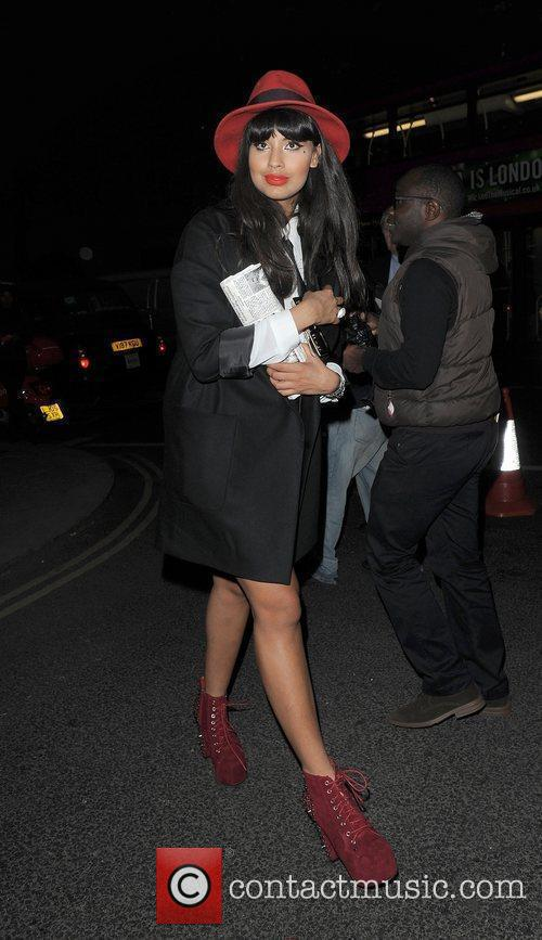 Jamelia and London Fashion Week 6