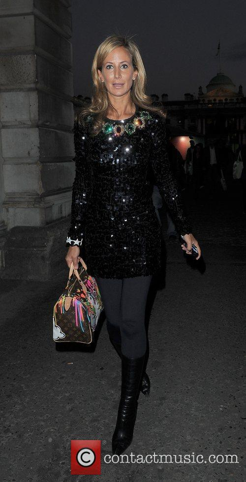 Lady Victoria Hervey and London Fashion Week 2