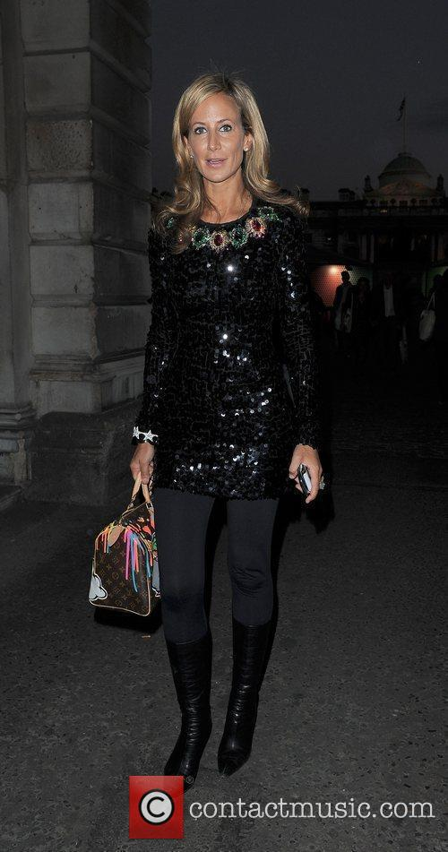 Lady Victoria Hervey and London Fashion Week 3