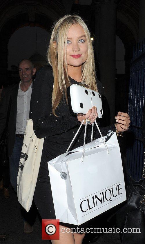 Laura Whitmore and London Fashion Week 1