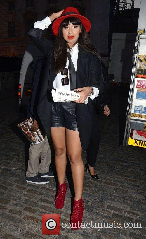 Jameela Jamil, London Fashion Week
