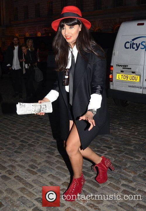 jameela jamil london fashion week springsummer 2013 4080642