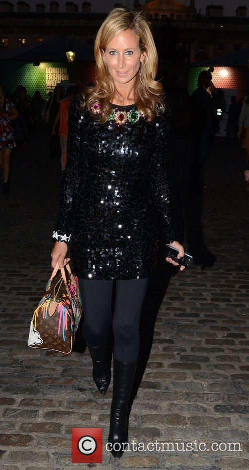 Lady Victoria Hervey and London Fashion Week 6