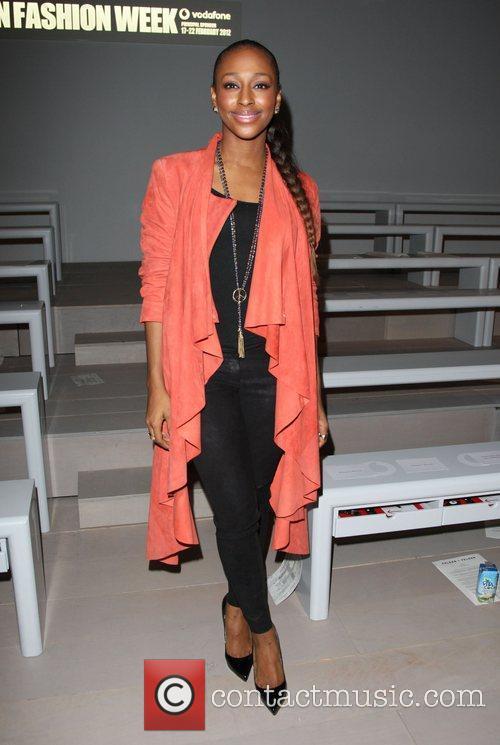 Alexandra Burke and London Fashion Week 6