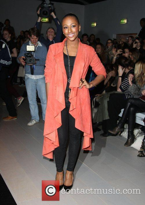 Alexandra Burke and London Fashion Week 10