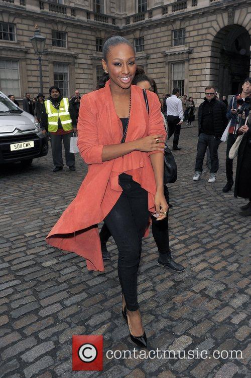Alexandra Burke and London Fashion Week 2