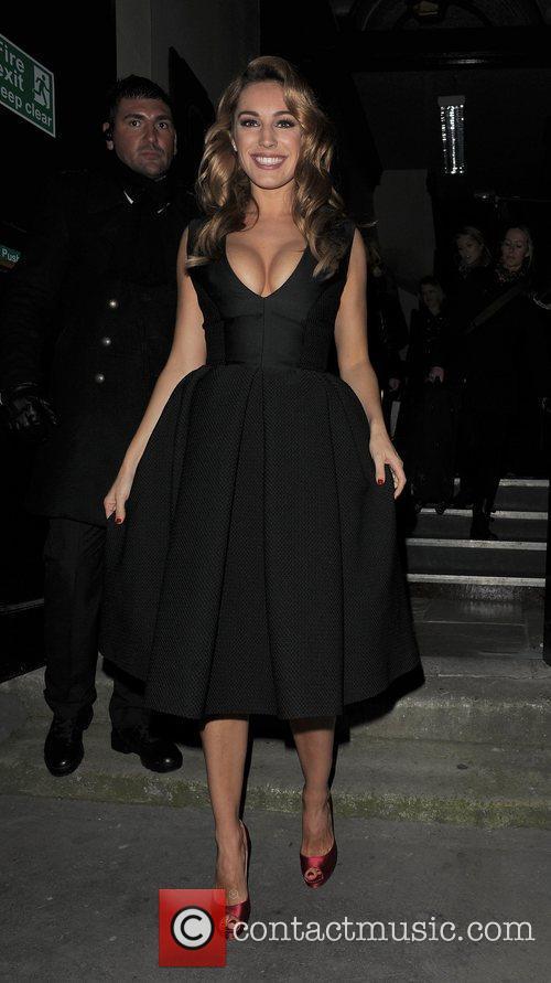 Kelly Brook London Fashion Week Autumn/Winter 2012 -...