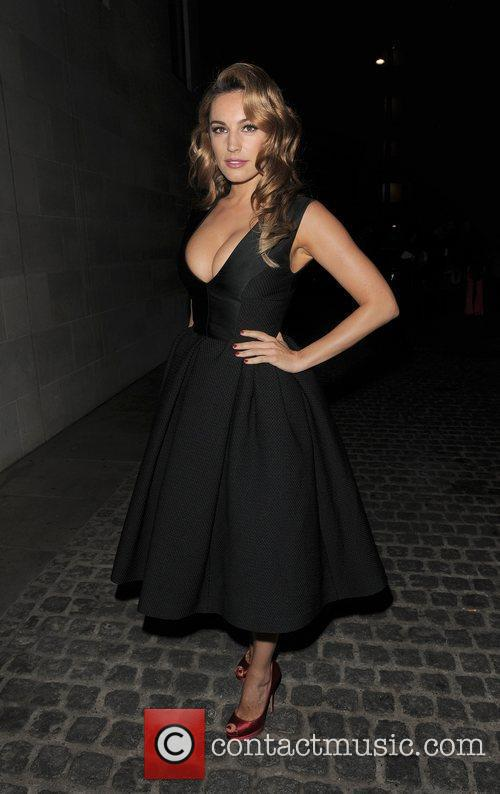 Kelly Brook and London Fashion Week 4