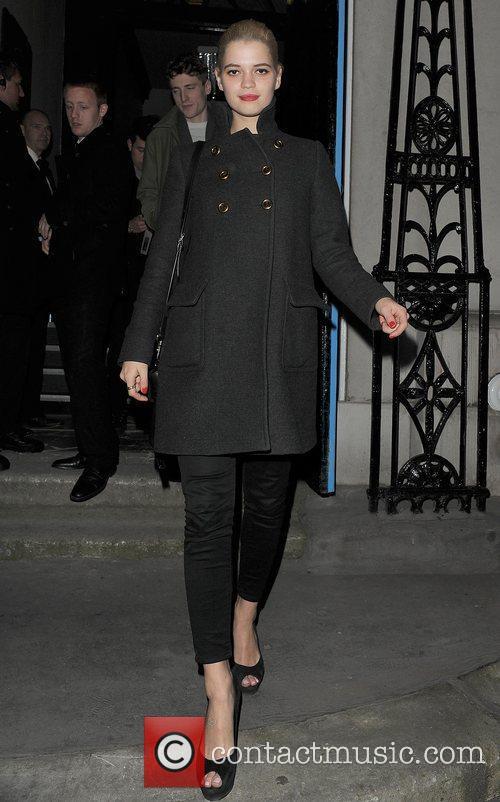 Pixie Geldof London Fashion Week Autumn/Winter 2012 -...