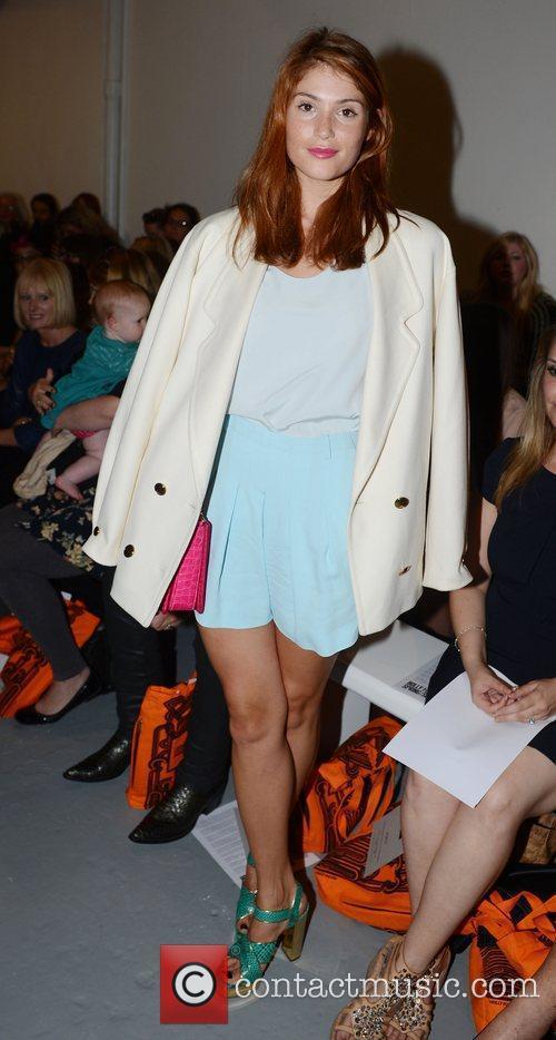 Gemma Arterton London Fashion Week Spring/Summer 2013 -...