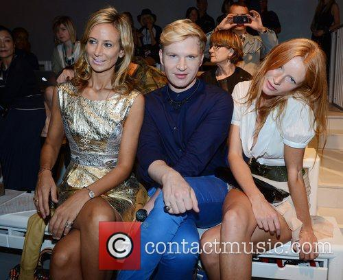 Lady Victoria Hervey, Henry Conway and Olivia Inge...