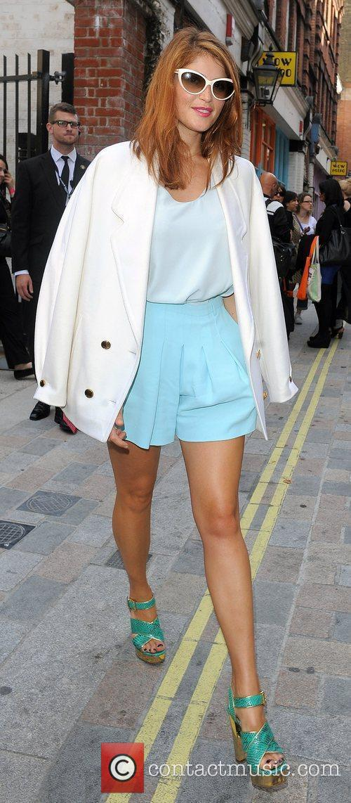 Gemma Arterton and London Fashion Week 11