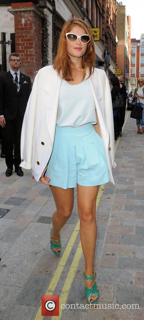 Gemma Arterton and London Fashion Week 3