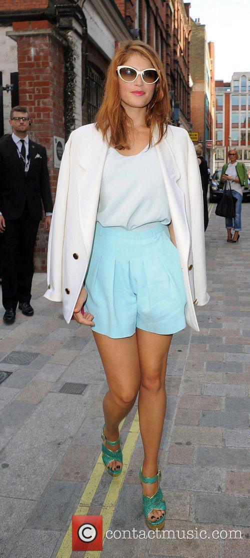 Gemma Arterton and London Fashion Week 4